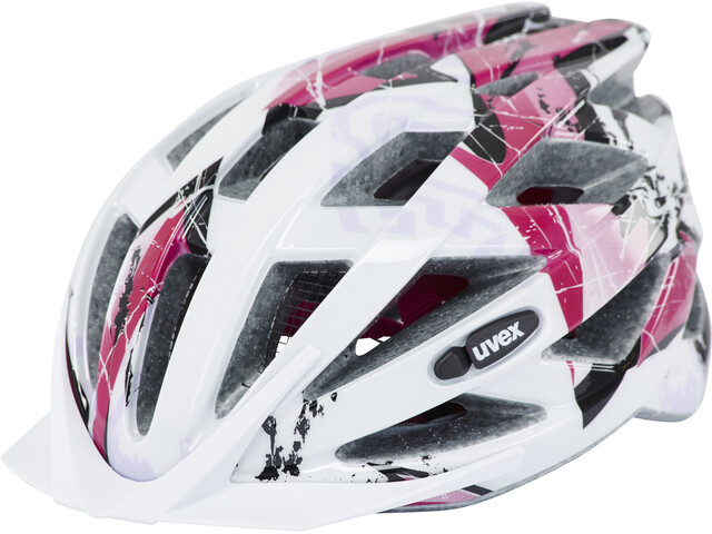 UVEX Air Wing Helmet Barn white/pink